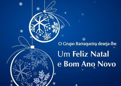 O Grupo Barraqueiro deseja-lhe Boas Festas